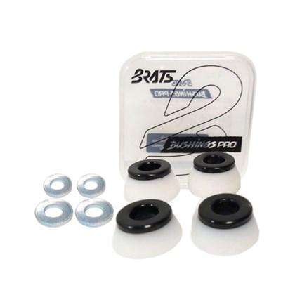 Amortecedor Brats Bushings Pro 95a Branco