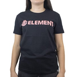 Blusinha Element Logo Preto