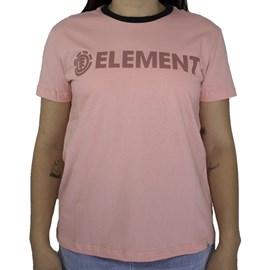 Blusinha Element Logo Salmao