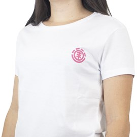 Blusinha Element Minimal Logo Branco