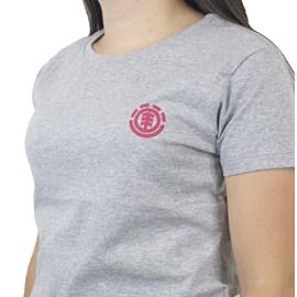 Blusinha Element Minimal Logo Cinza