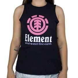 Blusinha Element Regata Classic Preto