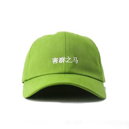 Bone Black Sheep Aba Curva Japan Verde