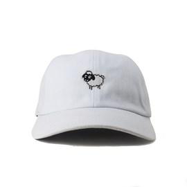 Bone Black Sheep Aba Curva Ovelha Branco