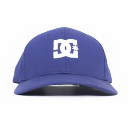Bone Dc Shoes Cap Star 2 Aba Curva Azul Marinho