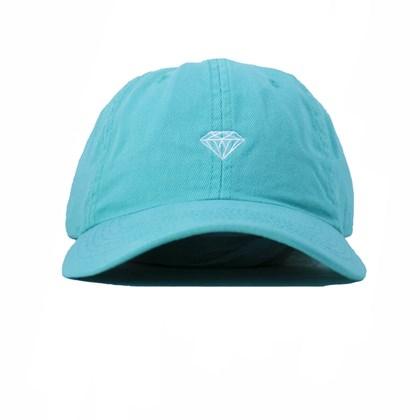 Boné Diamond Aba Curva Micro Brilliant Blue