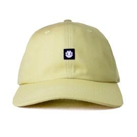 Boné Element Fluky Dad Hat Aba Curva Amarelo Claro