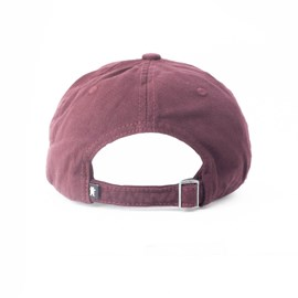 Boné Grizzly Late To The Game Dad Hat Burgundy