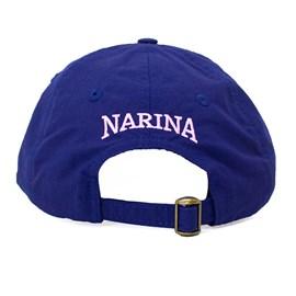 Boné Narina Aba Curva Mini Grafiti I Azul Rosa