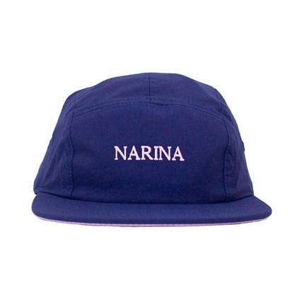 Boné Narina Five Panel Basic Narina Azul