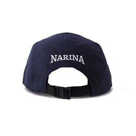 BONE NARINA FIVE PANEL CLASSIC III AZUL/MARROM