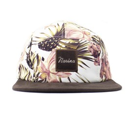 Bone Narina Five Panel Floral
