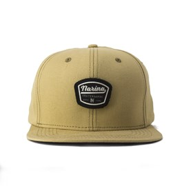 Bone Narina Snapback Patch Marrom