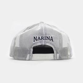 Bone Narina Trucker Bege/azul