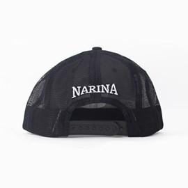 Bone Narina Trucker Preto/vinho