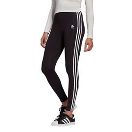 Calça Adidas Feminina Leggings 3 Str Black GN4504