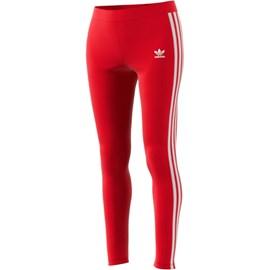 Calça Adidas Feminina Leggings 3 Str Red GN8076