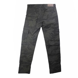 Calça Cargo Black Sheep Sarja Camuflada