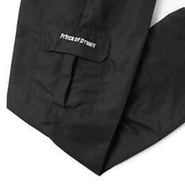 Calça Cargo Prince Tactel Preta