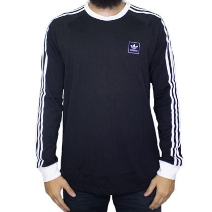 Camisa Adidas Ls Cali Preta