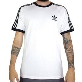 Camiseta Adidas 3 Stripes Branca Cw1203