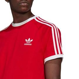 Camiseta Adidas 3 Stripes Vermelha GN3502