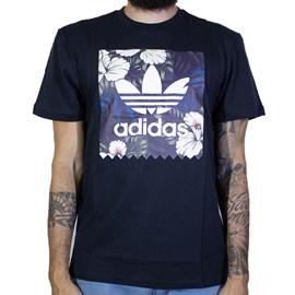Camiseta Adidas Bb Flrl Fill T Preta Ec7360
