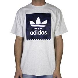 Camiseta Adidas Bb Print Cinza
