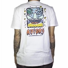 Camiseta Adidas Roanoke Branca