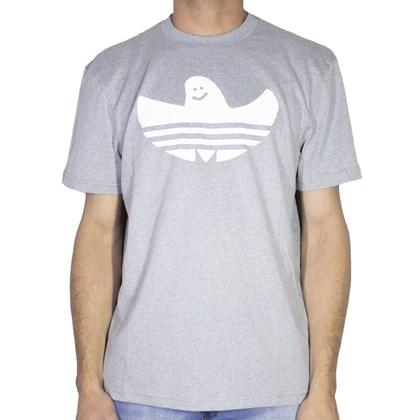 Camiseta Adidas Shmoo Cinza Branca