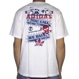 Camiseta Adidas Wehaul Tee Branca