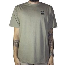 Camiseta Basic Logo Verde Militar Mescla