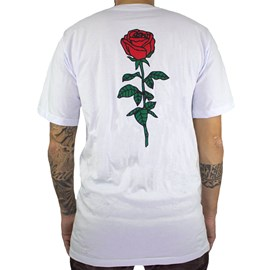 Camiseta Classic Roses Branca