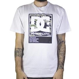 Camiseta Dc Shoes Arakana Branca