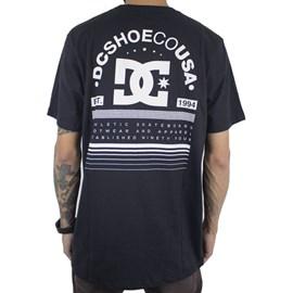 Camiseta Dc Shoes Arch Preto