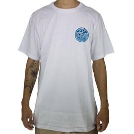 Camiseta Dc Shoes Around The Globe Branco