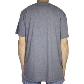 Camiseta Dc Shoes Basic Logo Preto Cinza
