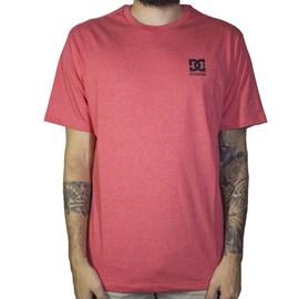 Camiseta Dc Shoes Basic Logo Vermelho