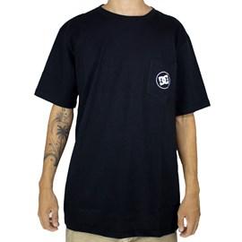 Camiseta Dc Shoes Basic Pocket Preto