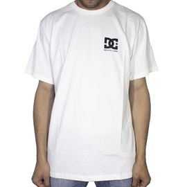 Camiseta Dc Shoes Basic Star White