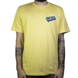 Camiseta Dc Shoes Benjamin Stack Amarelo