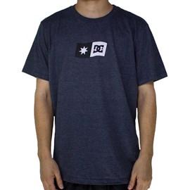 Camiseta Dc Shoes Big Flag Marinho Mescla
