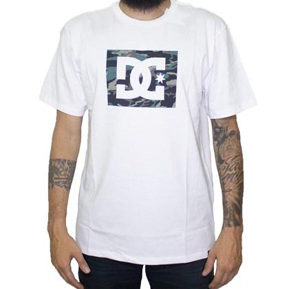 Camiseta Dc Shoes Blocked Camo Snow