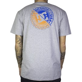 Camiseta Dc Shoes Bright Roller Cinza