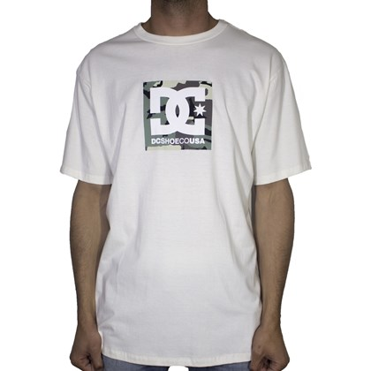 Camiseta Dc Shoes Camo Boxing Branca