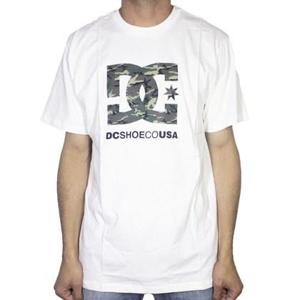 Camiseta Dc Shoes Camo Fill White