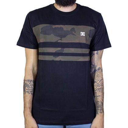 Camiseta Dc Shoes Camo Land Preta