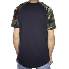 Camiseta Dc Shoes Camo Raglan