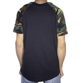Camiseta Dc Shoes Camo Raglan