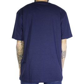 Camiseta Dc Shoes Circle Star Azul Marinho